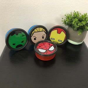 Tupperware Marvel set of 4 Travel Containers